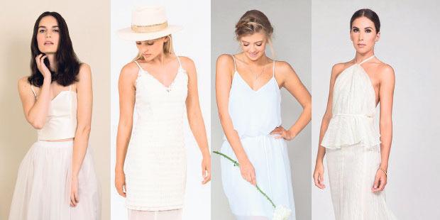 Dress to impress in white.