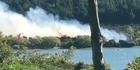 Watch: Watch: Scrub burns in Wanaka blaze
