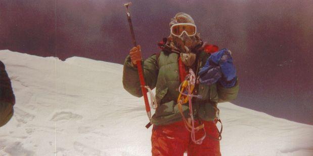 In 1997, John Gluckman took on Mt Everest and won.