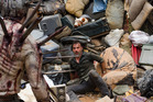 Rick Grimes prepares for the onslaught of Winslow. Photo / AMC