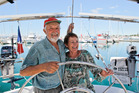 Jean-Pierre and Paulette Van Hille have spent the last 20 years sailing around the world. Photo/Ruth Keber