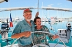 French sailors Jean-Pierre and Paulette van Hille have returned to Tauranga after 20 years to continue their long love affair with New Zealand. 