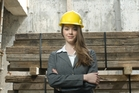 Demand for skilled construction professionals is high right from graduate level. Photo / Ted Baghurst