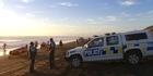 Watch: Dual emergencies at Muriwai