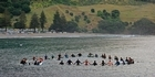 Watch: Surfer pay tribute to Doug Tamaki with a paddle out