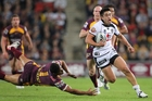 Shaun Johnson scored a spectacular try against the Broncos in 2011. Photo / photosport.nz