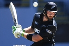 Martin Guptill is expected to return this week from his second hamstring injury this summer. Photo / Photosport