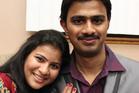 Srinivas Kuchibhotla with his wife Sunayana Dumala in Cedar Rapids, Iowa. Photo / AP