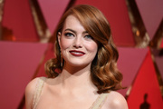 Emma Stone has been named best actress at the Oscars. Photo/AP
