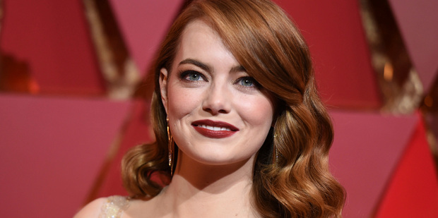 Loading Emma Stone has been named best actress at the Oscars. Photo/AP