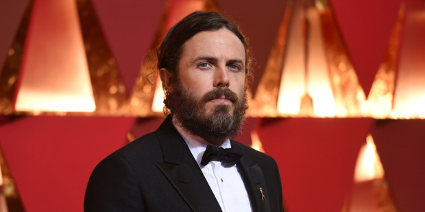 Casey Affleck has been named best actor at the Oscars. Photo/AP