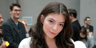 Singer Lorde poses as she arrives for Chloe's ready to wear fall-winter 2015-2016 fashion collection during Paris fashion week, Paris, France, Sunday, March 8, 2015. (AP Photo/Thibault Camus) NZH