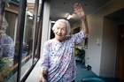 Margaret Almond is 104 and doing pilates to help get her back on her feet again.