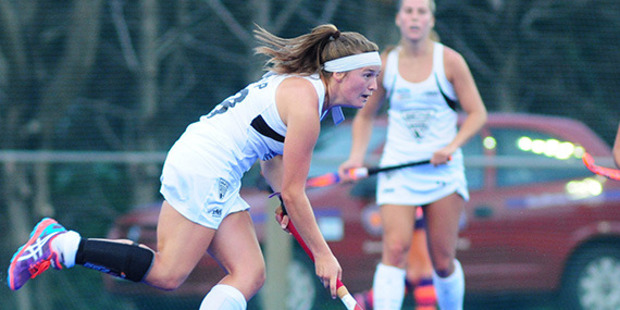 Jennifer Storey in action for the Black Sticks. Photo / Supplied
