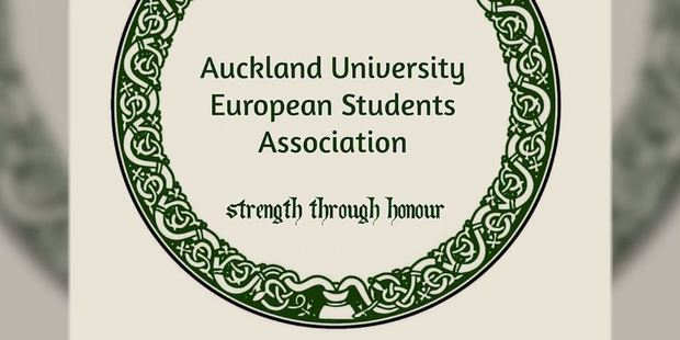 Loading The head of the European Students' Association earlier told NZME the group was misunderstood. Photo / Screengrab
