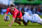 James O'Connor in action for Toulon. Photo / Getty