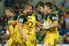 Dane Coles and Beauden Barrett have returned to the Hurricanes' starting XV. Photo / Getty