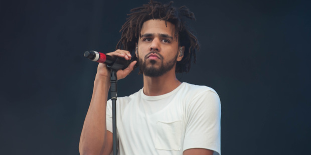 Hundreds of J. Cole fans were left sour-faced after missing out on the hip hop star's tickets. Photo / Getty Images