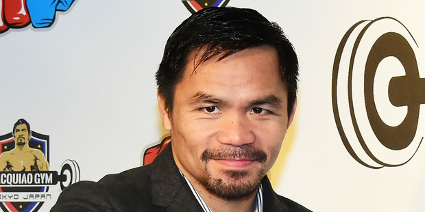 Filipino boxer Manny Pacquiao. Photo / Getty Images.