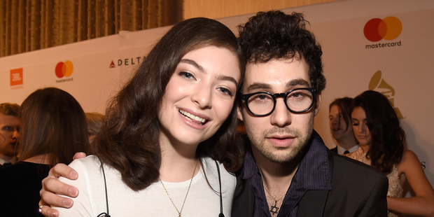 Loading Singer Lorde and musician Jack Antonoff. Photo / Getty Images