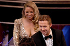 Actor Ryan Gosling and Mandi Gosling at this year's Oscars. Photo / Getty