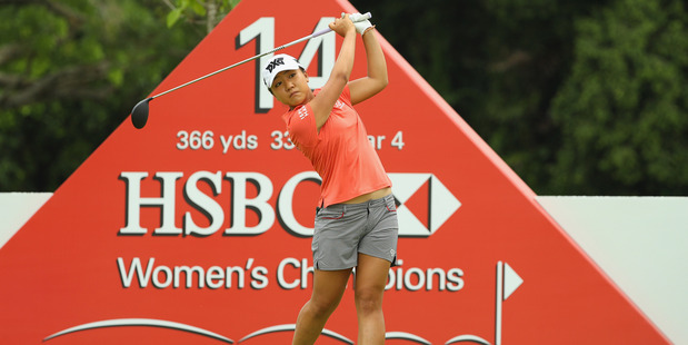 Lydia Ko hopes the Kasumigaseki Country Club will allow women full membership for the 2020 Olympic Games in Tokyo, Japan. Photo / Getty Images.