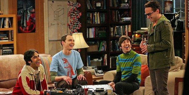 The Big Bang Theory. Photo / Getty