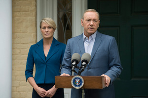 A shot from House of Cards available on Netflix. Photo/supplied