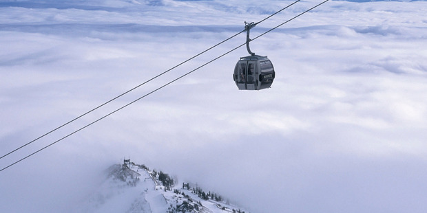 For stunning snowy views, try the Panorama Gondola at Mammoth Mountain. Photo / Mammoth Mountain