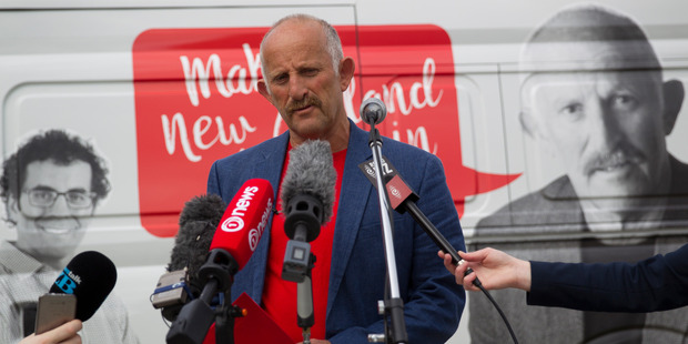 Gareth Morgan's new political party has declared itself happy with its showing in the Mt Albert byelection. Photo / Nick Reed