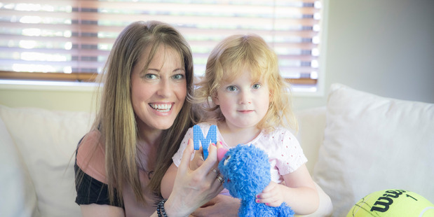 Amanda Davies with her daughter Lily-Grace, who has an extremely rare chromosome disorder. Photo/Michael Craig