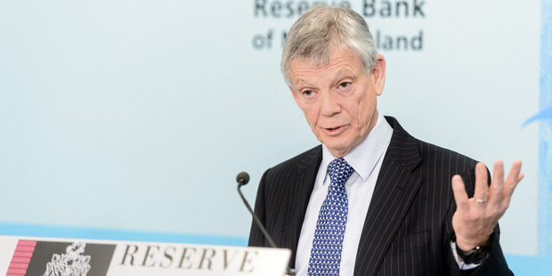 Reserve Bank Governor Graeme Wheeler touched on uncertainties arising from Europe and China. Photo / Bloomberg