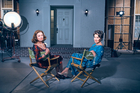 Susan Sarandon and Jessica Lange star in Feud: Bette and Joan, based on the real-life story of Bette Davis and Joan Crawford.