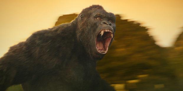 The gorilla in Kong: Skull Island.