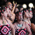Waihirere Maori club performing at Te Matatini National Kapa Haka Festival at Hawke's Bay Regional Sports Park  photograph by Paul Taylor