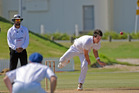 FIRED UP: Northern Districts pace bowler Tony Goodin took three wickets in Bay of Plenty's win over Nelson. PHOTO: GEORGE NOVAK