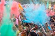 The Holi Festival of Colours was held at the Hare Krishna Temple near Kumeu. Photo / Dean Purcell