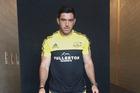 Nehe Milner Skudder in his Hurricanes Super Rugby kit. Photo / Supplied via Twitter