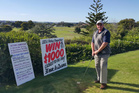 CLOSE CALL: Keith Slight, winner of last year's annual Wanganui Golf Club Closest to the Pin competition.