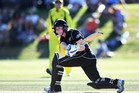 HOMECOMING: Tauranga's Amy Peterson helped the White Ferns win the opening ODI against Australia. PHOTO: photosport