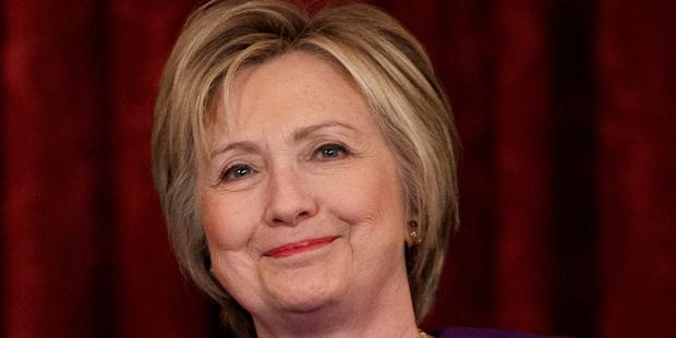 Hillary Clinton. Photo / AP