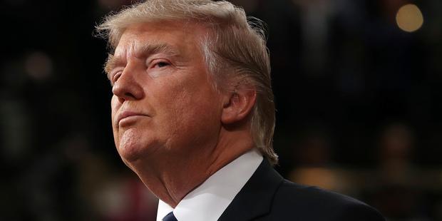 Loading President Donald Trump arrives on Capitol Hill. Photo / AP