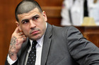 Former New England Patriots player Aaron Hernandez. Photo / AP