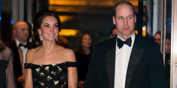 The Duke and Duchess of Cambridge are being sent to Germany and Poland on official visits just weeks after the start of official Brexit talks. Photo / AP