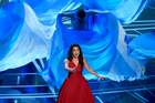 Auli'i Cravalho performs songs from best original song nominee How Far I'll Go, from Moana. Photo / AP