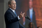 George W. Bush appeared in NBC's Today show. Photo / AP