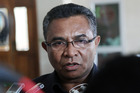 East Timor  Prime Minister Dr Rui Araujo was a student at Otago University in the late 1990s and will revisit his old stamping ground as well as meeting with PM Bill English. Photo / AP
