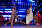 Greydis Montero Liranza, left, and Lisa Kohunui, strike a pose at the 2015 event. PHOTO/FILE