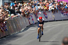 Great Britain's Bradley Wiggins takes the gold medal at the London Olympic Games. Photo/Mark Mitchell