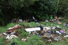 DUMPING SPOT: Mountain Rd is a popular dumping spot for rubbish. PHOTO/FILE